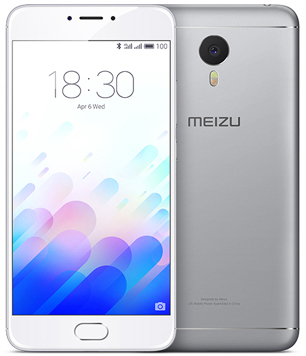 Meizu M3 Note 16Gb серебристый