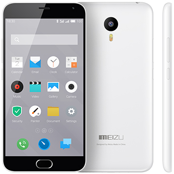 Meizu M2 Note 16Gb белый