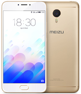 Meizu M3 Note 16Gb золотой