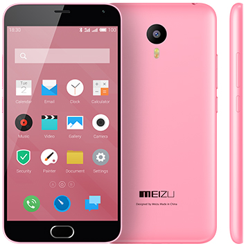 Meizu M2 Note 16Gb розовый