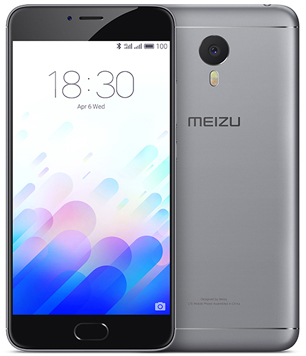 Meizu M3 Note 16Gb серый